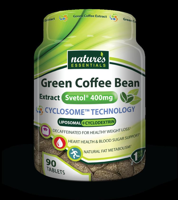 Green Coffee Extract Svetol Natures Essentials